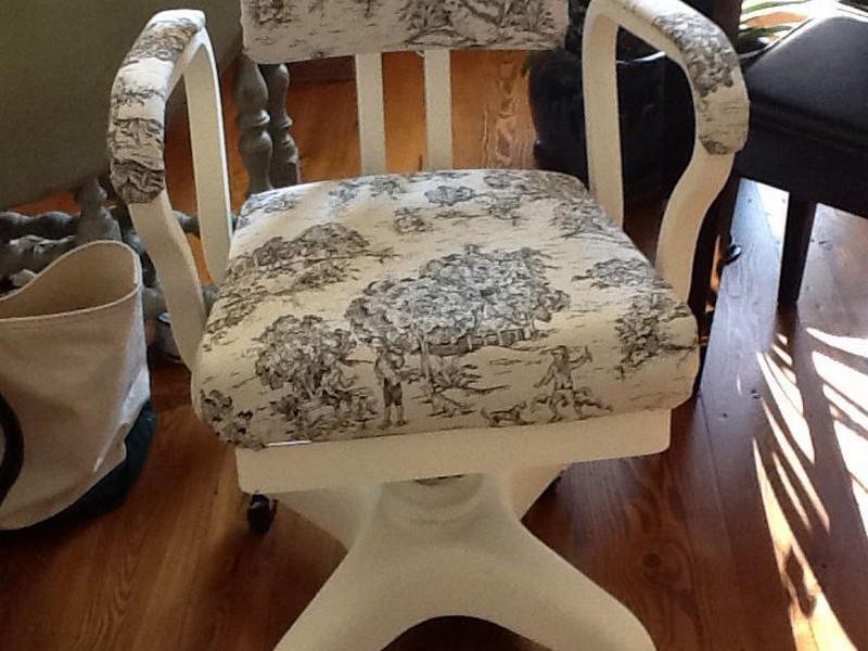 Cow Print Desk Chair