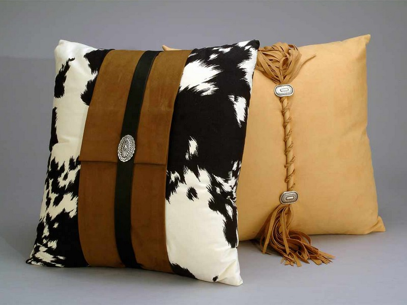 Cow Print Pillows