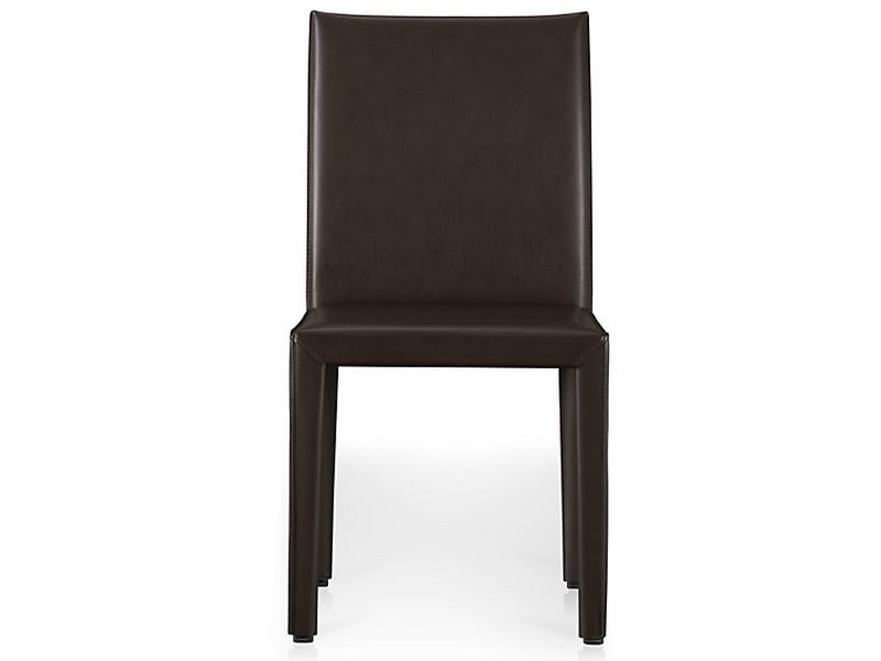Crate And Barrel Leather Dining Chairs