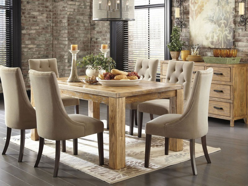 Cream Colored Dining Chairs
