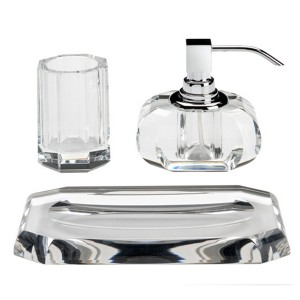 Crystal Bathroom Accessories Sets