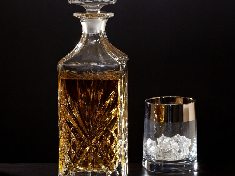 Crystal Scotch Decanters