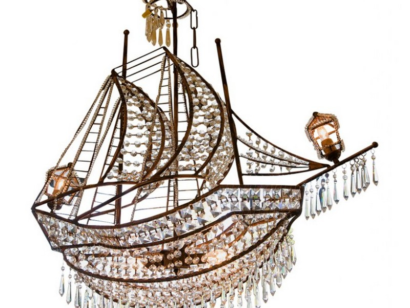 Crystal Ship Chandelier Z Gallerie