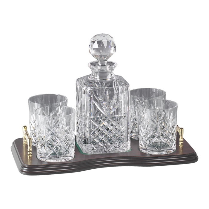 Crystal Whisky Decanter Set