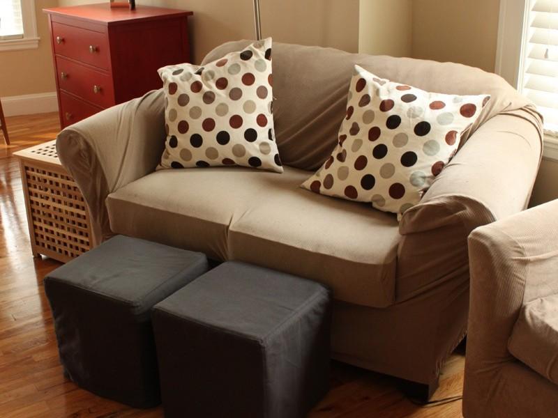 Cube Ottoman Slipcover Pattern