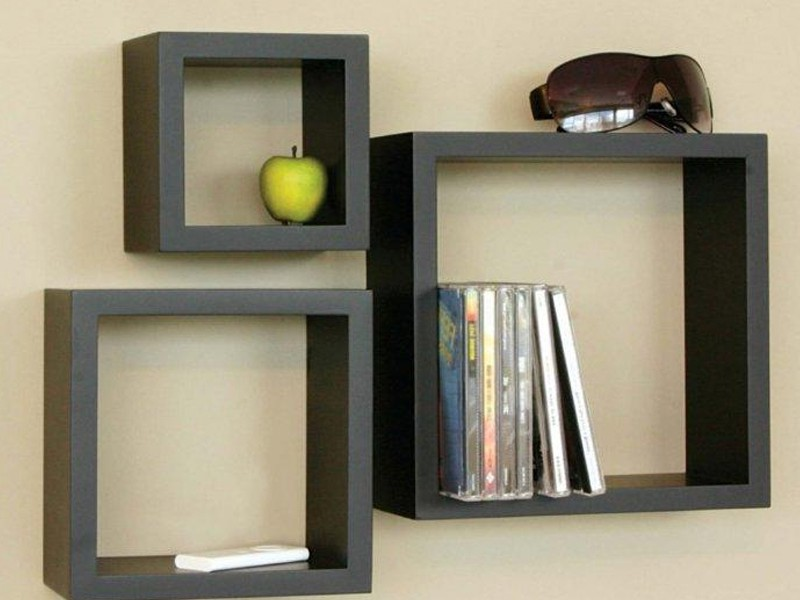 Cube Wall Shelf