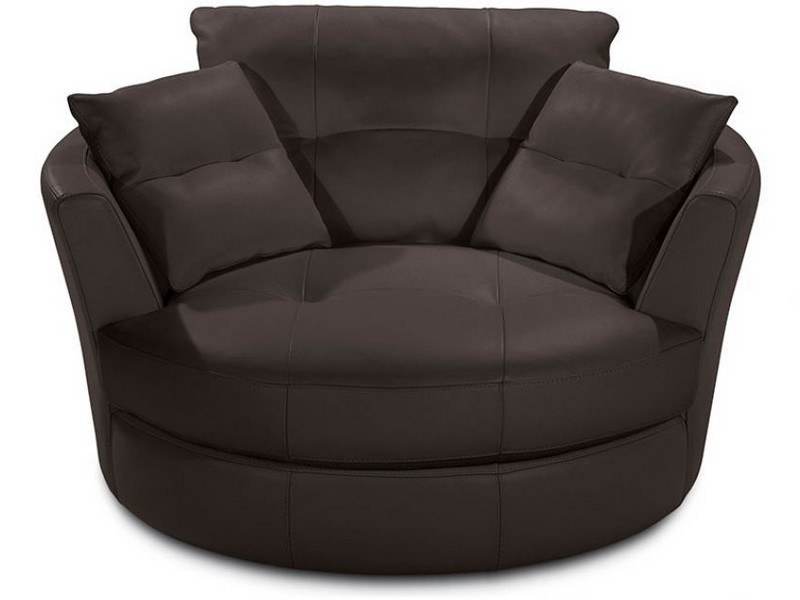Cuddler Swivel Sofa Chair