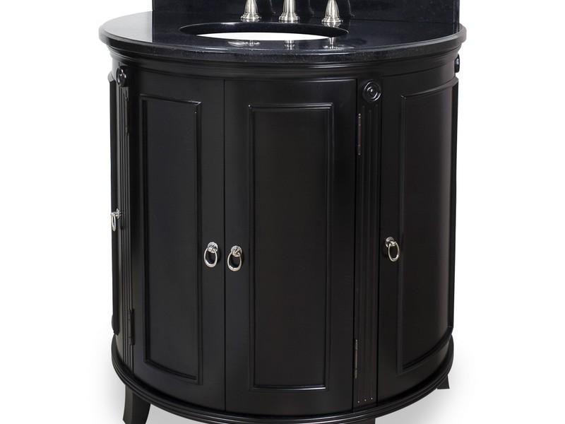 Curved Front Bathroom Vanity