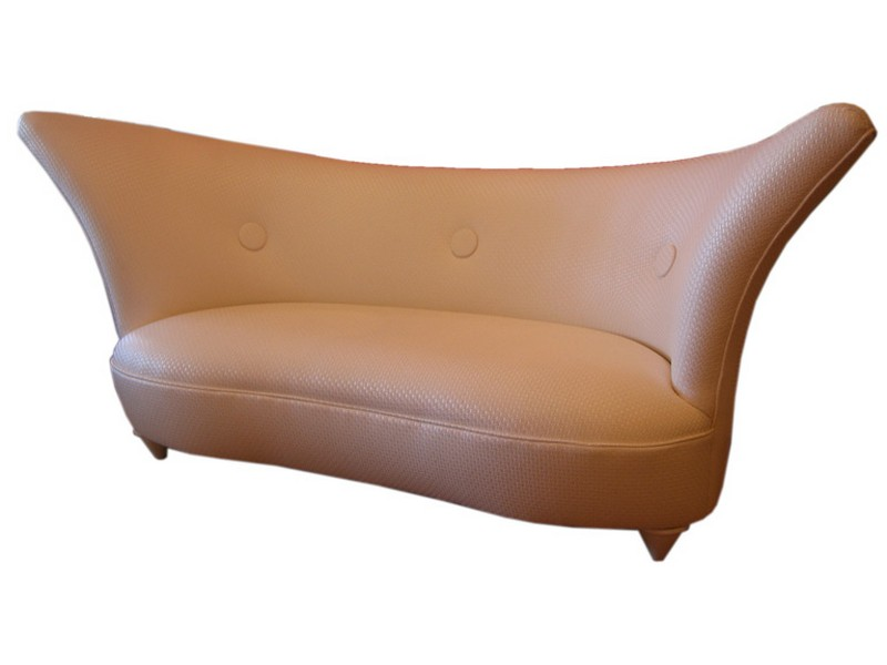 Curved Love Seat