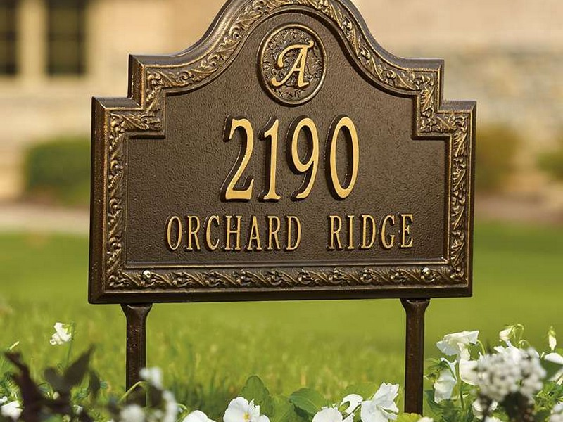 Custom Address Plaques