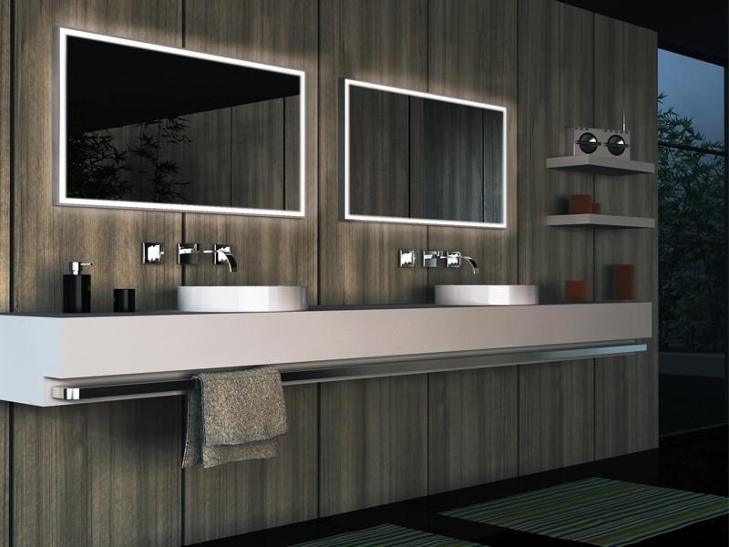 Custom Bathroom Mirrors With Lights