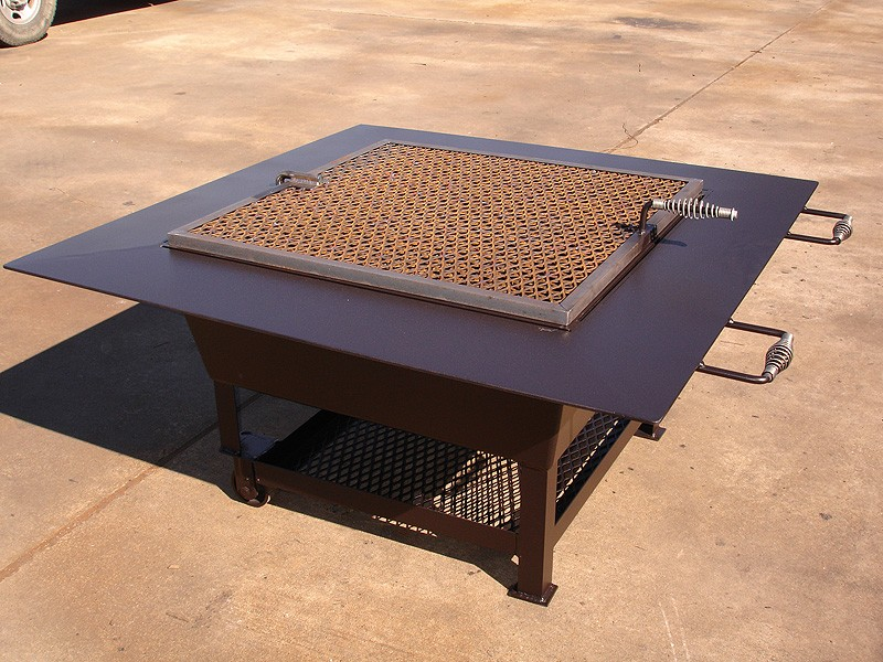 Custom Made Metal Fire Pits