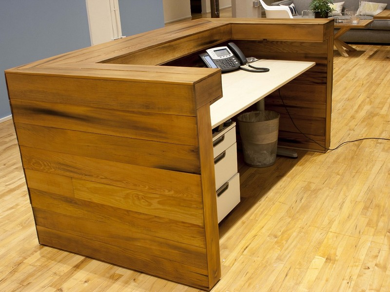 Custom Made Reception Desks