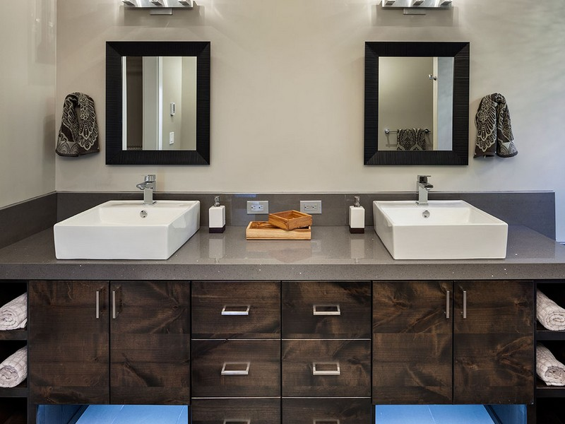 Custom Modern Bathroom Vanities