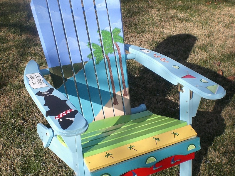 Custom Painted Adirondack Chairs
