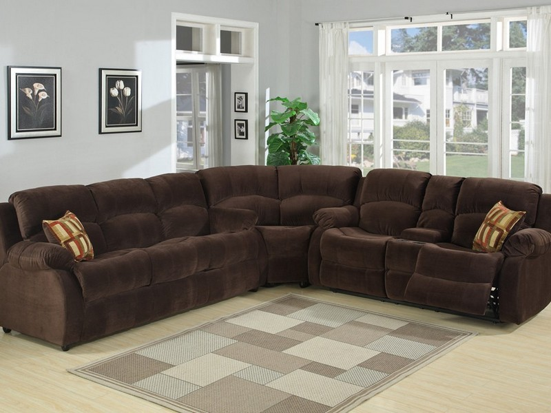 Custom Sectional Sofas With Recliners