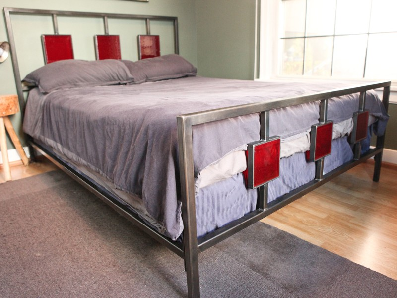 Custom Steel Bed Frames