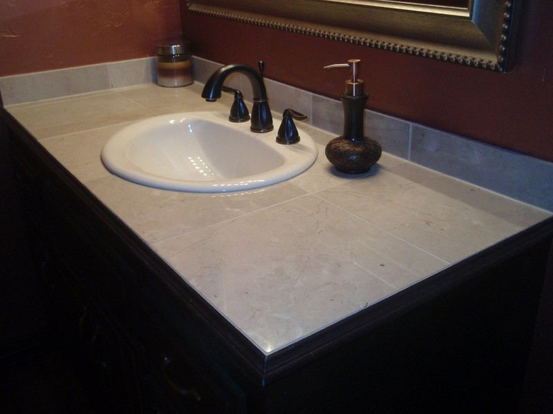 Custom Vanity Top With Sink