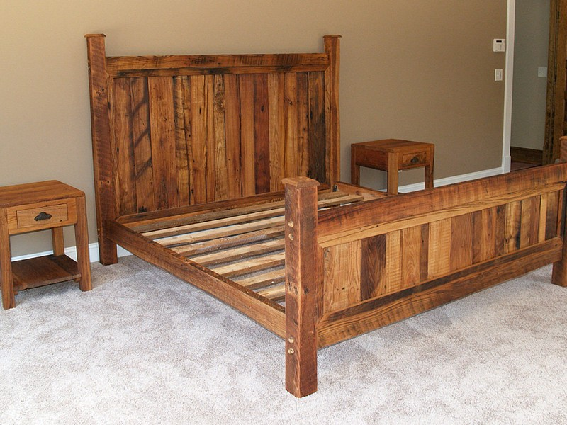 Custom Wooden Bed Frames