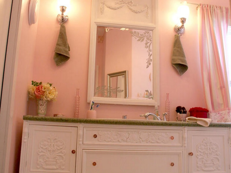 Cute Girly Bathroom Sets