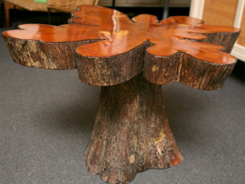 Cypress Tree Coffee Table
