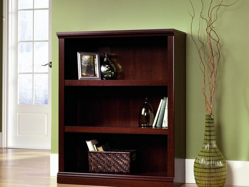 Dark Cherry Bookcase