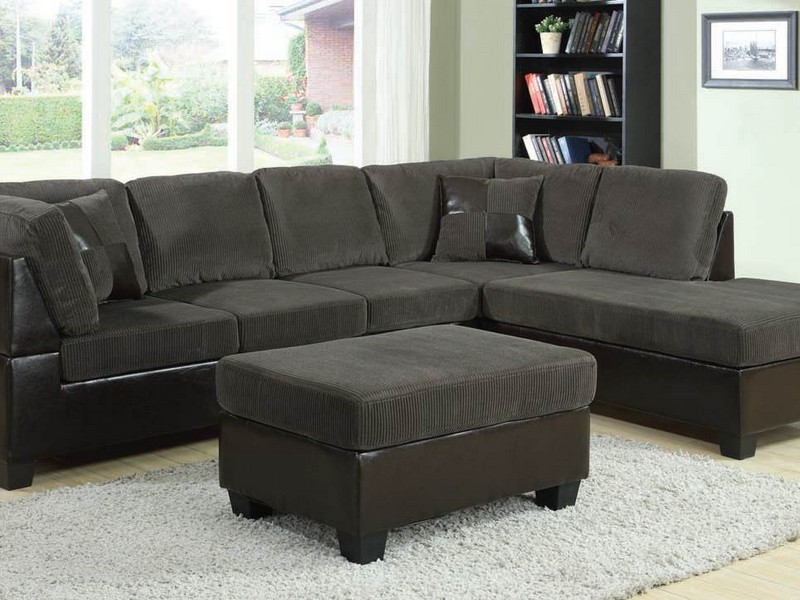 Dark Gray Sectional Couch