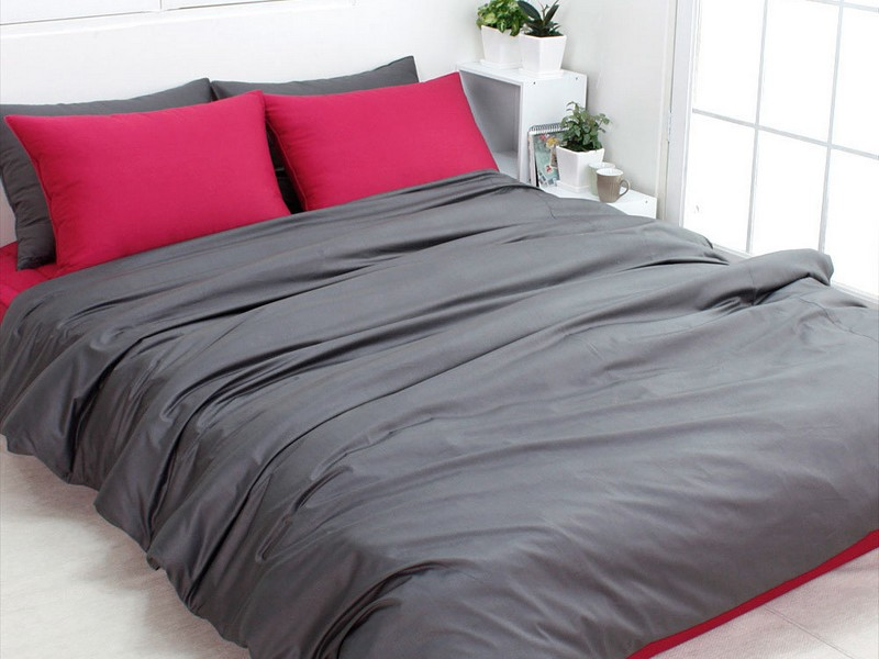 Dark Grey Duvet Cover Queen