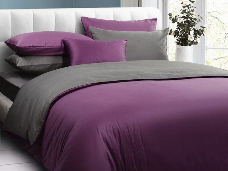 Dark Purple Duvet Cover Queen
