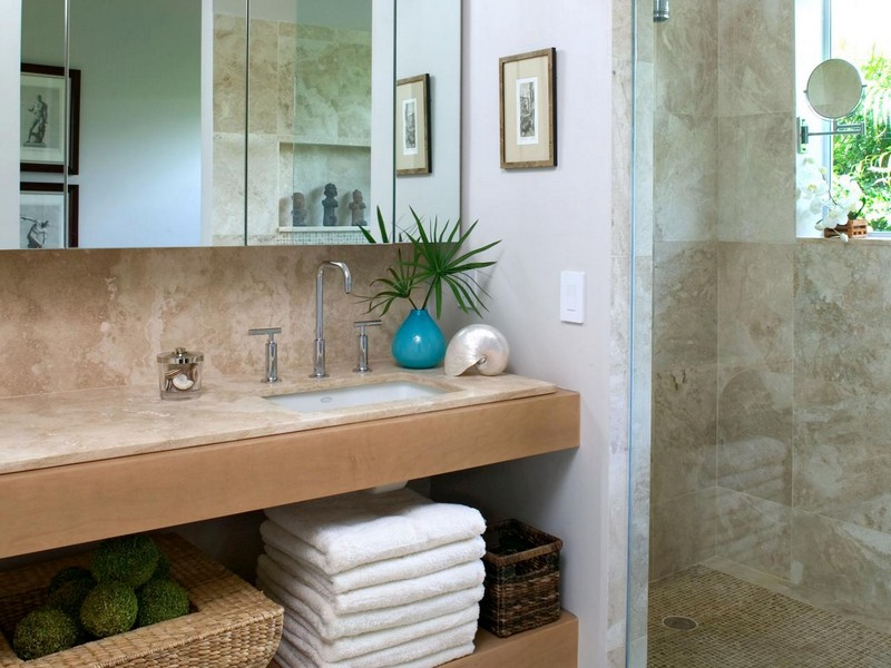 Decorating Ideas For Bathrooms Beach Theme