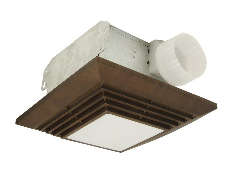Decorative Bathroom Exhaust Fan With Light
