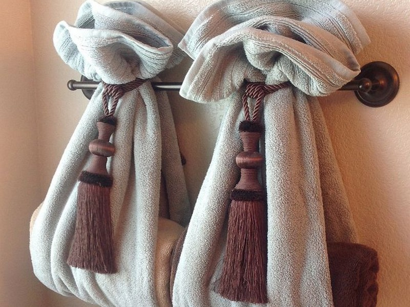 Decorative Bathroom Towel Holders