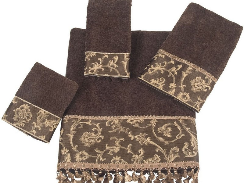Decorative Bathroom Towels Sets