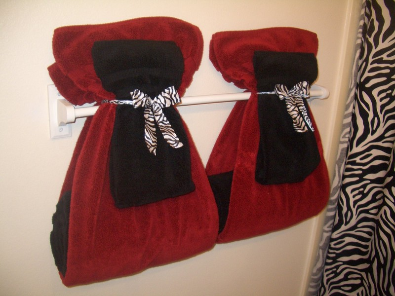 Decorative Bathroom Towels