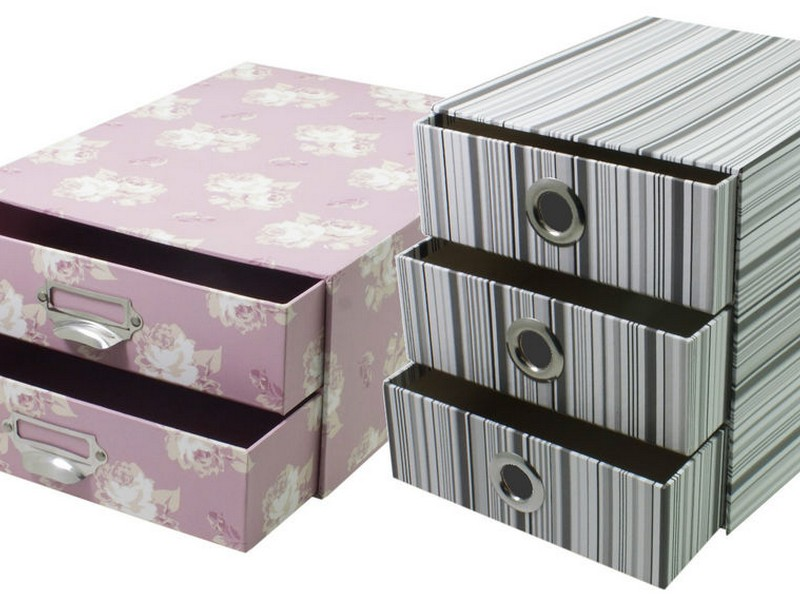 Decorative Cardboard Storage Trunks