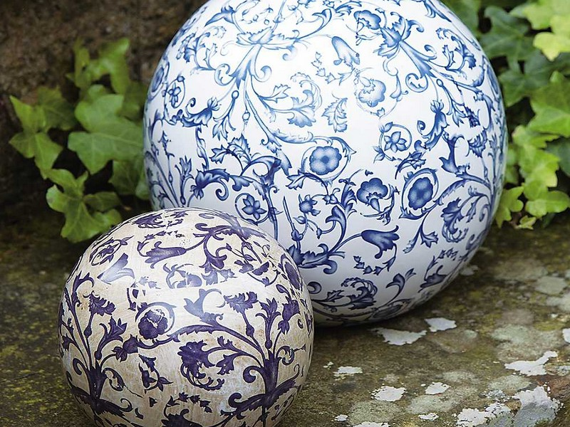 Decorative Ceramic Balls Garden