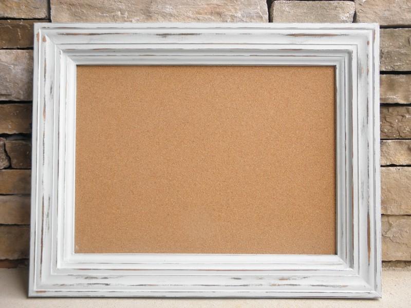 Decorative Framed Cork Board
