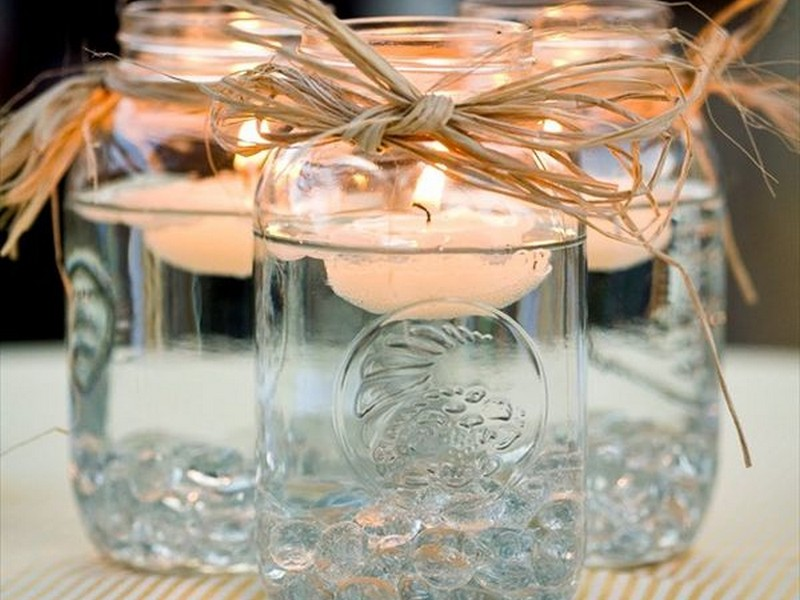 Decorative Glass Containers For Candles