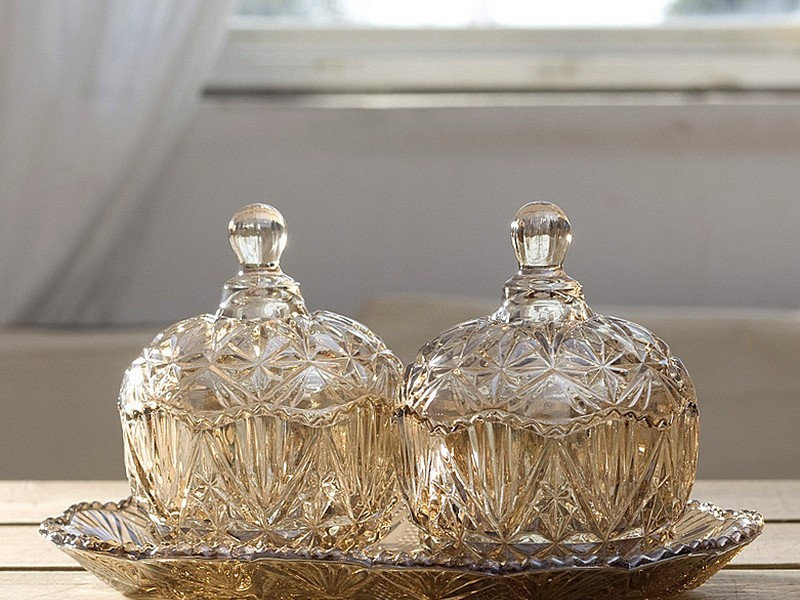 Decorative Glass Containers