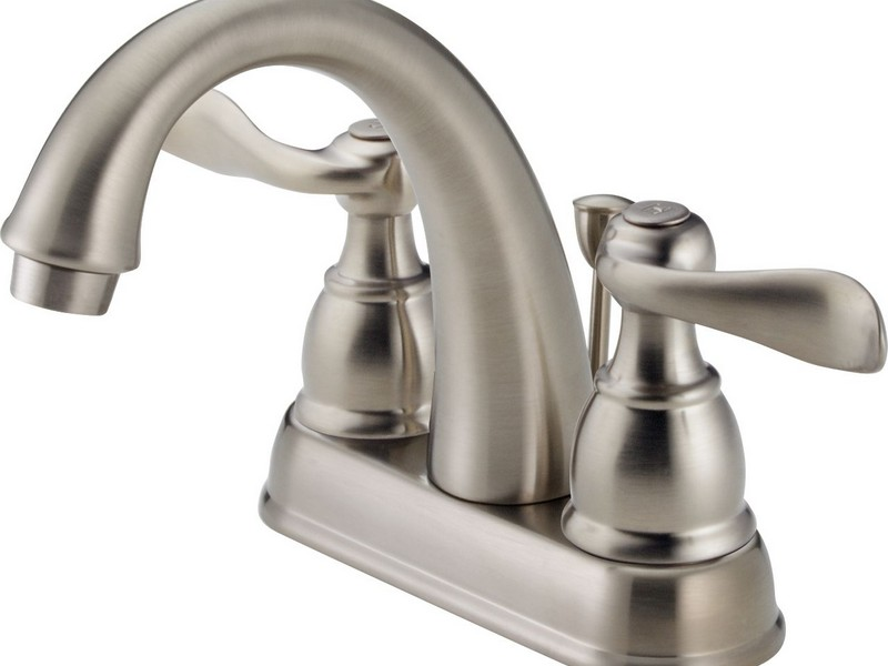 Delta Brushed Nickel Bathroom Faucets