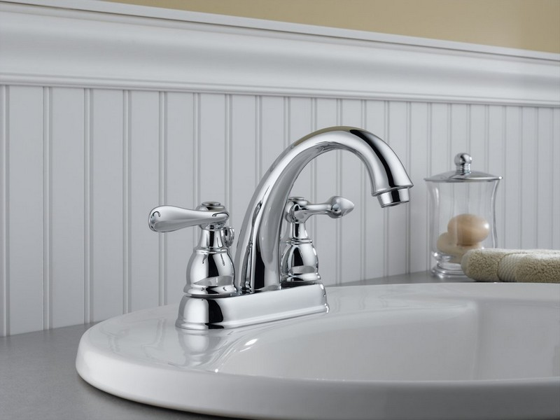 Delta Polished Brass Bathroom Faucets