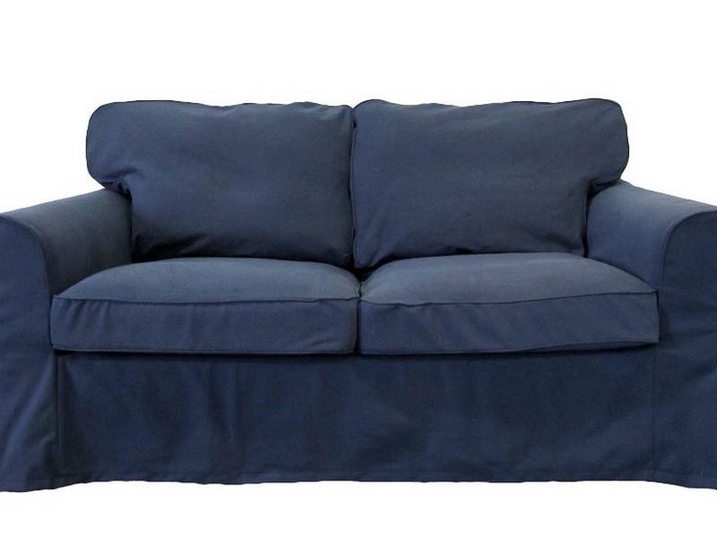 Denim Slipcover Sofa