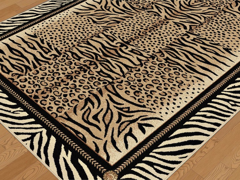 Derby House Cow Print Rug