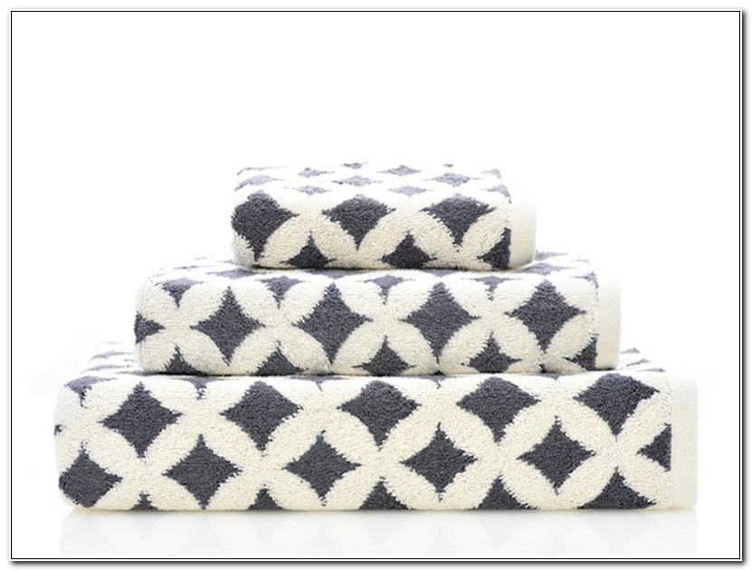 Designer Bath Towels Pattern