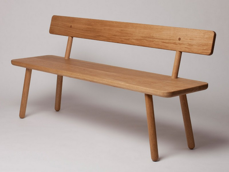 Dining Benches With Backs Uk