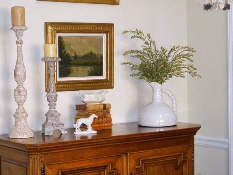 Dining Room Buffet Decor Pinterest