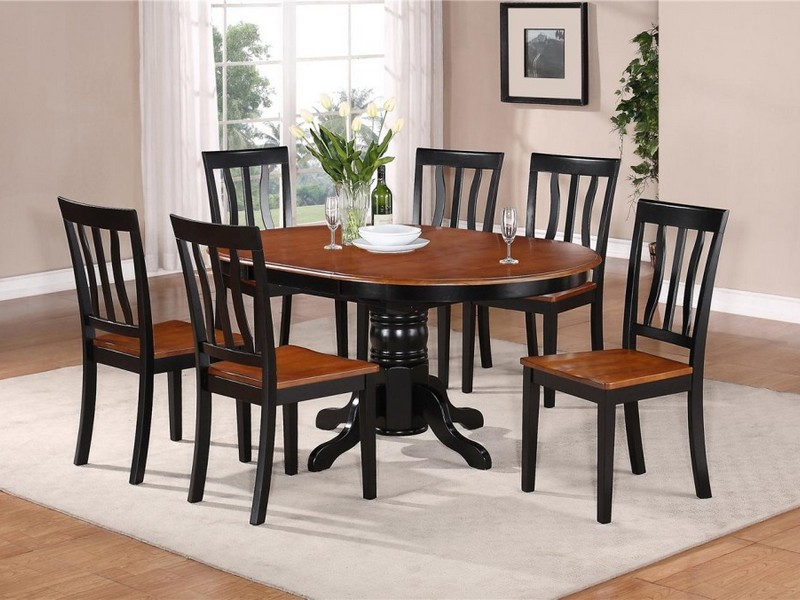 Oval Dining Table Laminate Floor Small Kitchen Table Sets Sets Design