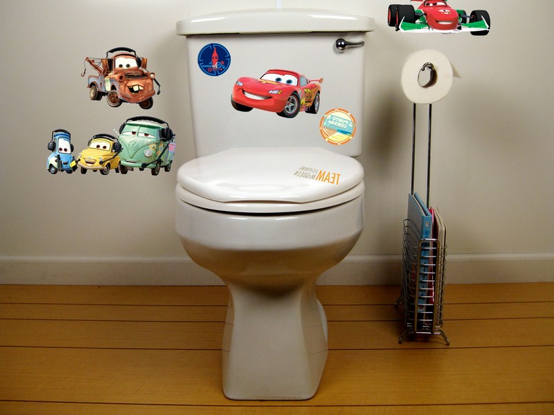 Disney Cars Bathroom Decor
