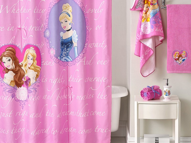 Disney Princess Bathroom Decor