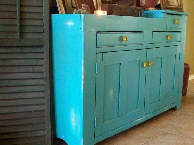 Distressed Blue Furniture